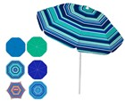 6 Ft Tnt Tilt Pole Umbrella Stripes