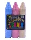 SIDEWALK CHALK 3pc JUMBO
