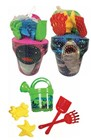 6pc SHARK & DOLPHIN PAIL SET