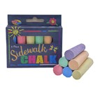 SIDEWALK CHALK 6pc