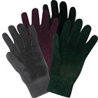 WOMENS STRETCH CHENILLE GLOVES (G520)