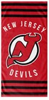 BEACH TOWELS NHL NEW JERSEY DEVILS
