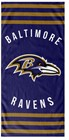 BEACH TOWELS NFL BALTIMORE RAVENS
