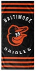 BEACH TOWELS MLB BALTIMORE ORIOLES